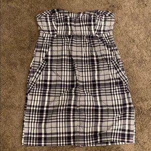 American Eagle Strapless Dress w/Pockets
